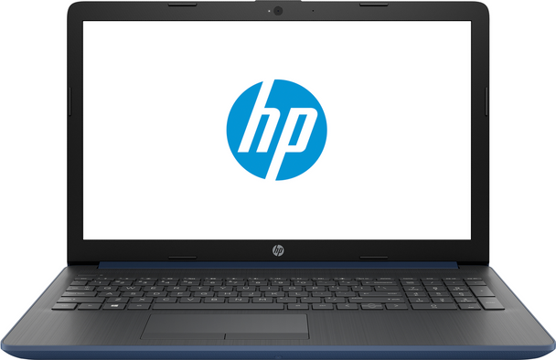 "HP Laptop 15-db0009cy- AMD A9 - 3.10GHz, 8GB RAM, 2TB HDD, 15.6"" Touch, Office 365 1 Year, Blue"