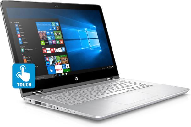 "HP Pavilion x360 Convertible 14-ba125cl - Intel i5 - 1.60GHz, 8GB RAM, 256GB SSD, 14"" Touchscreen"