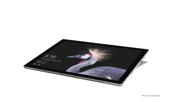 "Microsoft Surface Pro 2017 - Intel I5 - 2.60GHz, 8GB RAM, 256GB SSD, 12.3"" Touchscreen, Windows 10 Pro"