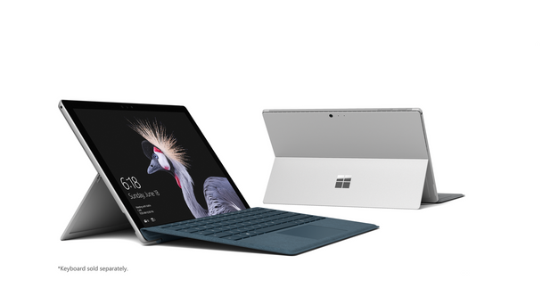 "Microsoft Surface Pro-2017 - Intel M3, 4GB RAM, 128GB SSD, 12.3"" Touchscreen, Windows 10 Pro"