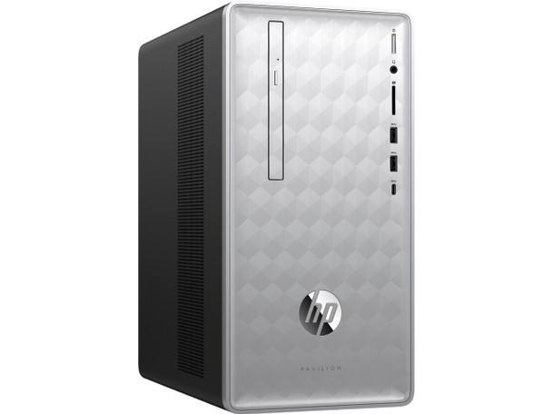 HP Pavilion Desktop 595-p0074 - Intel i5 - 2.80GHz, 12GB RAM, 128GB SSD, 1TB HDD