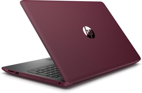 "HP 15-DB0005DS Laptop - AMD A9 – 3.10GHz, 8GB RAM, 128GB SSD, 15.6"" Touchscreen, Burgundy"