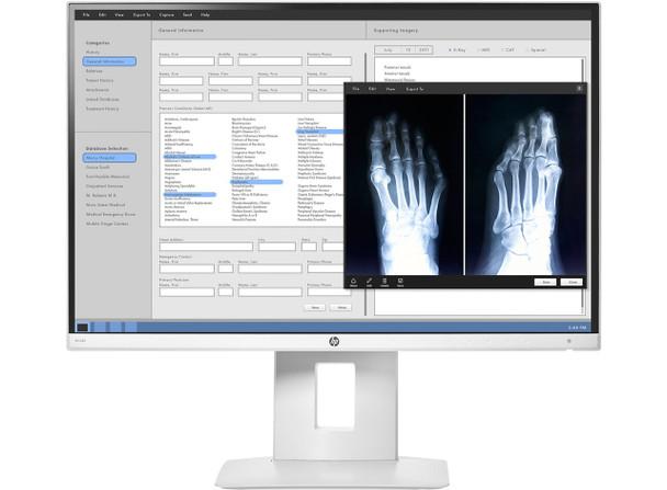 """HP HC240 Healthcare Edition (24"""") WUXGA Flat White LED Computer Monitor"""