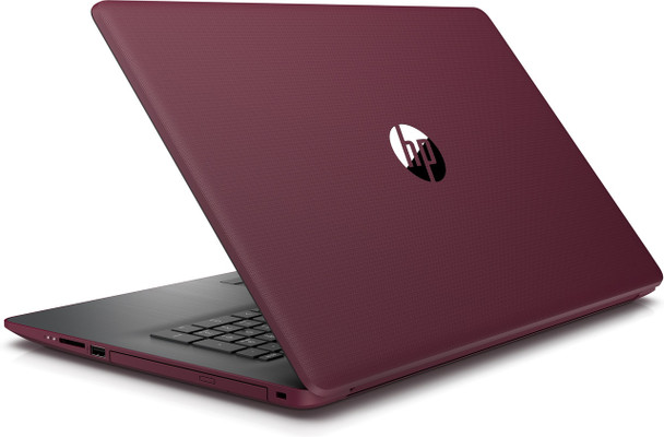 "HP Laptop 17-by0018cy - Intel i5 - 8250u, 8GB RAM, 16GB Optane, 1TB HDD, 17.3"" Touch, Office 365, Maroon Burgundy"
