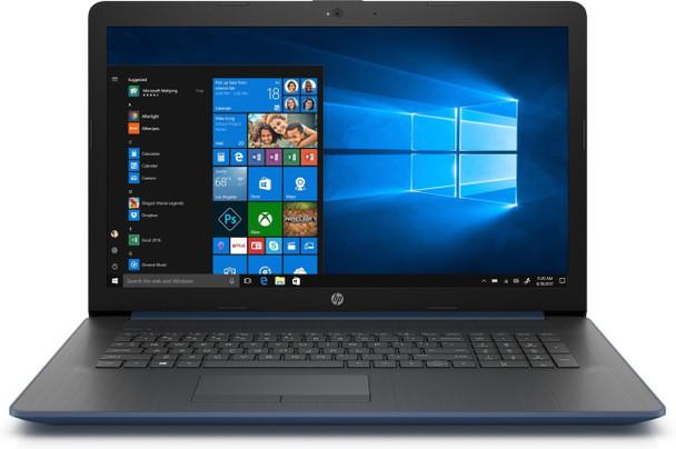 "HP Laptop 17-by0090cl - Intel i5 - 8250u - 8GB RAM, 16GB Optane, 2TB HDD, 17.3"" Display, Twilight Blue"