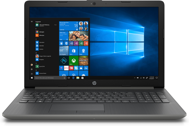 "HP Laptop 15-da0087nr - 15.6"" Display, Intel i5 - 8250u, 8GB RAM, 1TB HDD, Gray"