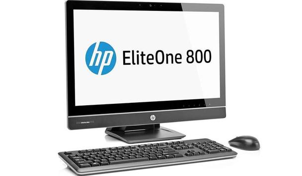 "HP Eliteone 800-G1 - 23"" Display - Intel Core i5 - 2.90GHz, 8GB RAM, 256GB SSD, Windows 10 Home 64"