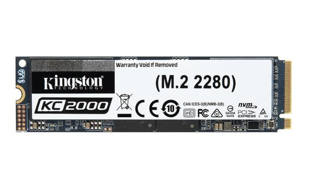 Kingston Technology KC2000 M.2 500 GB PCI Express 3.0 3D TLC NVMe Solid State Drive