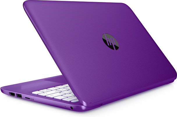 "HP Stream Laptop 11-ah013wm - Intel Celeron, 4GB RAM, 32GB SSD, 11.6"" Display, Windows S, Purple"