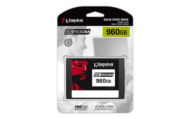 "Kingston DC500 2.5"" 960 GB Serial ATA III 3D TLC Solid State Drive"