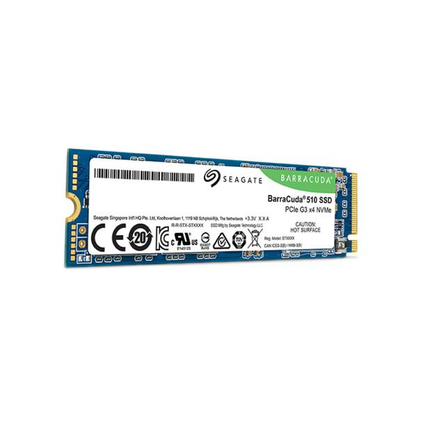 Seagate BarraCuda 510 M.2 256 GB PCI Express 3.0 3D TLC NVMe Solid State Drive