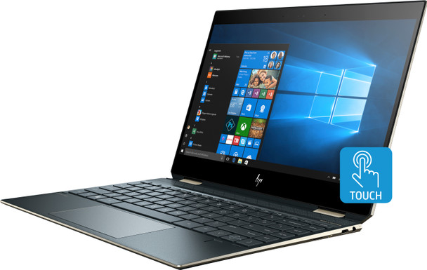 "HP Spectre X360 13-AP0033DX - Intel Core i7 – 1.80GHz, 16GB RAM, 512GB SSD, 13.3"" Touchscreen, Poseidon Blue"