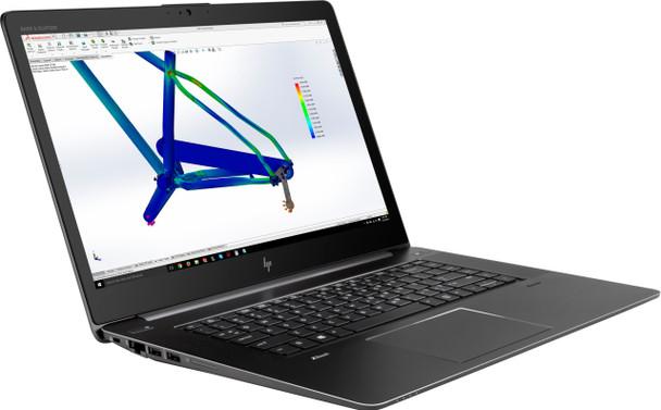 "HP Zbook Studio G4 Mobile Workstation - Intel i7 - 2.80GHz, 8GB RAM, 256GB SSD, Quadro M1200 4GB, 15.6"" Display"
