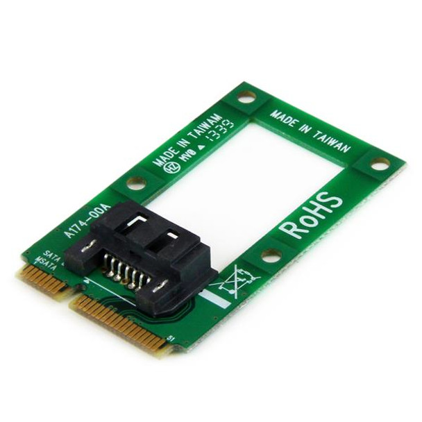 mSATA to SATA HDD / SSD Adapter – Mini SATA to SATA Converter Card