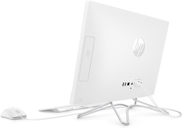 "HP All-in-One 24-f0027c - Intel Pentium, 8GB RAM, 1TB HDD, 23.8"" Touchscreen, White"
