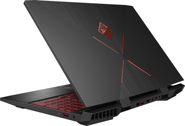 "HP Omen 15-DC0088NR Gaming Laptop – 15.6"" Display, Intel Core i7 - 2.20GHz, 8GB RAM, 256GB SSD, Geforce GTX 1050Ti 4GB, Windows 10, Black"