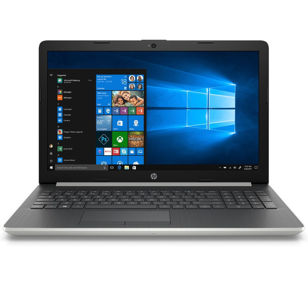 "HP Laptop 15-da0042ca - 15.6"" Display, Intel i5, 12GB RAM, 2TB HDD, Silver"