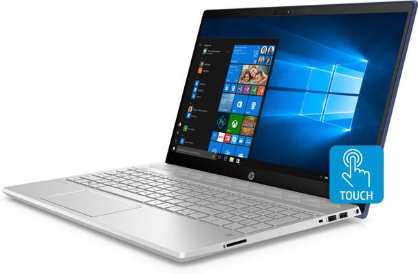 "HP Pavilion Laptop 15-cw0003cy - 15.6"" Touch, Ryzen 3 - 2.00GHz, 8GB RAM, 1TB HDD, Sapphire Blue"