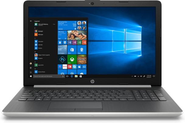 "HP Laptop 15-da0031nr - 15.6"" Display, Intel i5, 8GB RAM, 1T B HDD, Silver"