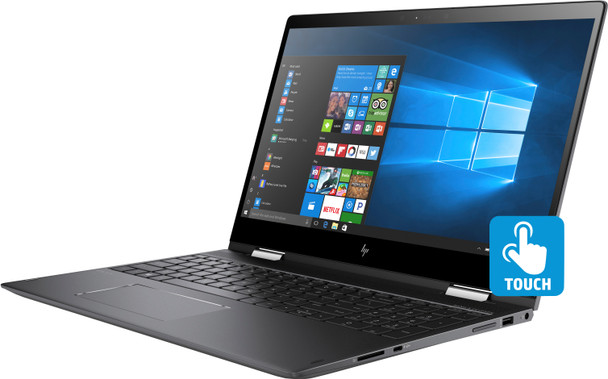 "HP ENVY x360 Convertible 15-bq276nr - 15.6"" Touch, Ryzen 5 - 2.00GHz, 12GB RAM, 1TB HDD"