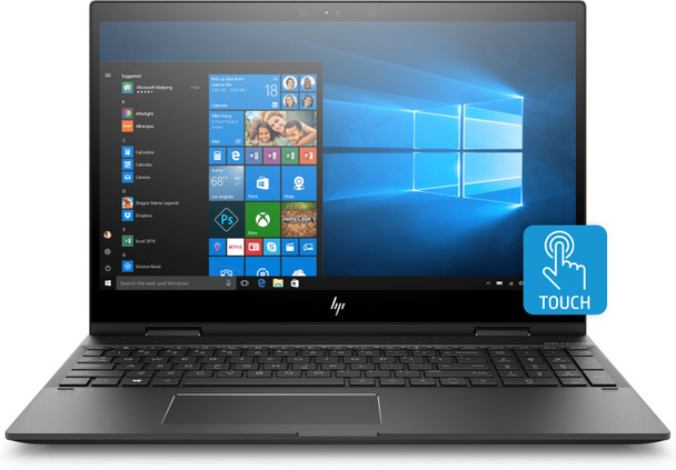 "HP ENVY X360 15-CP0053CL Convertible - AMD Ryzen 5 - 2.00GHz, 8GB RAM, 256GB SSD, 15.6"" Touchscreen, Windows 10"