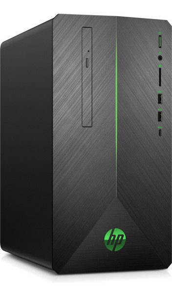 HP Pavilion 690-0039 Gaming PC, Intel Core i5 – 2.80GHz, 12GB RAM, 1TB HDD + 256GB SSD, GTX 1050Ti 4GB