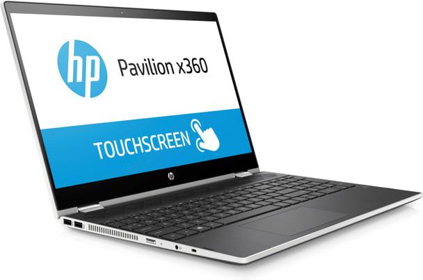 "HP Pavilion x360 Convertible 15-cr0017nr -15.6"" Touch, Intel i5, 8GB RAM, 256GB SSD, Ash Silver"