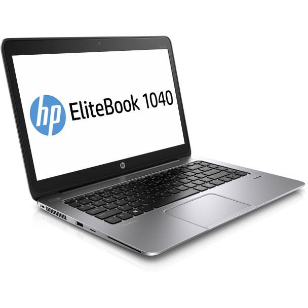 "HP EliteBook Folio 1040 G2 Notebook - 14"" Display, Intel i5 - 2.30GHz, 8GB RAM, 128GB SSD, Windows 10 Pro"