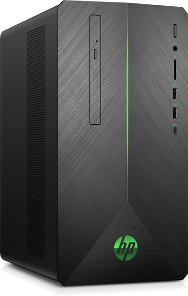 HP Pavilion 690-0020 Gaming PC, AMD Ryzen 5 Pro – 3.50GHz, 8GB RAM, 1TB HDD, Radeon RX 550 4GB