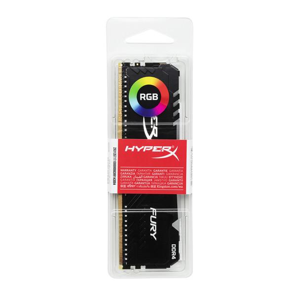 Kingston HyperX FURY RGB 8GB 3466mhz DDR4 Cl16 DIMM