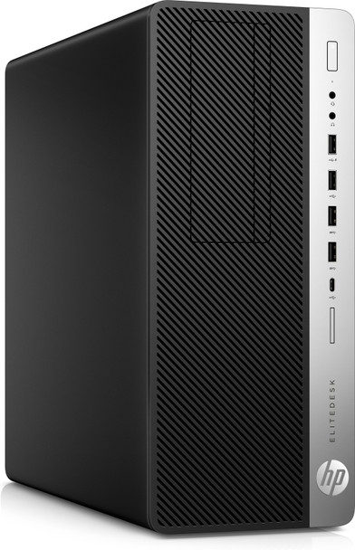 HP EliteDesk 800 G4 Tower | Intel Core i7 – 3.20GHz, 16GB RAM, 512GB SSD, Windows 10 Pro