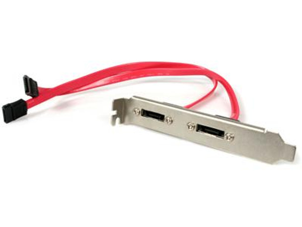 Startech Turn Two Standard Sata Motherboard Connections Into Two External Esata Ports. -
