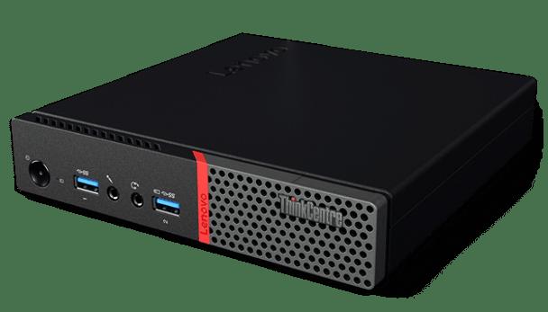 Lenovo ThinkCentre M700 Tiny - Intel i5 - 2.20GHz, 8GB RAM, 256GB SSD, Windows 10 Pro