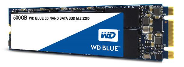 WD Blue 3D NAND 500GB - SATA III 6 Gb/s M.2 2280 Solid State Drive