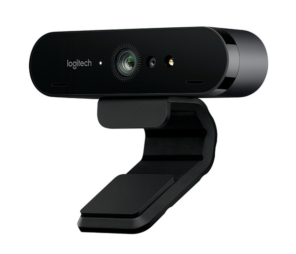 Logitech BRIO Webcam - 90 fps - USB 3.0 - 4096 x 2160 Video - Auto-focus - 5x Digital Zoom - Microphone