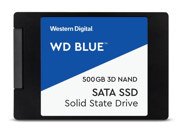 "WD Blue 3D NAND 500GB - SATA III 6 Gb/s 2.5"" Solid State Drive"