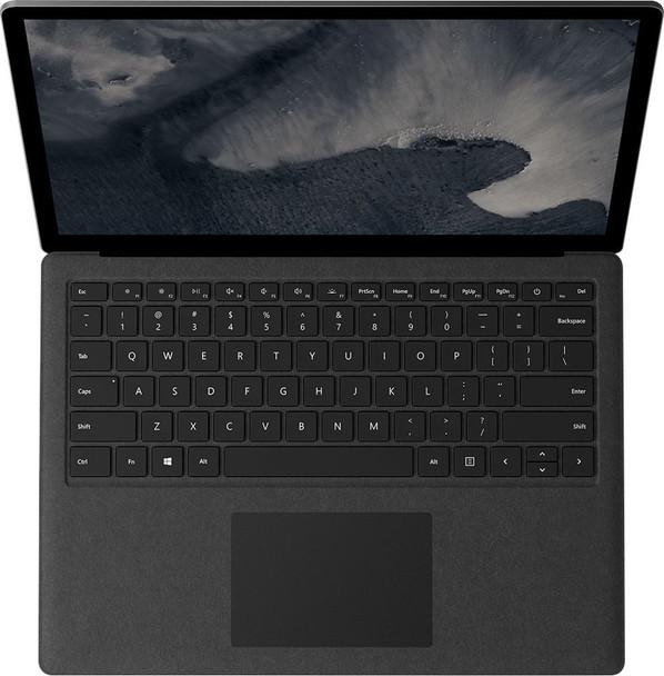 "Microsoft Surface Laptop 2 | Intel Core i7 8650U, 8GB RAM, 256GB SSD, 13.5"" Touchscreen, Windows 10 Pro, Black"