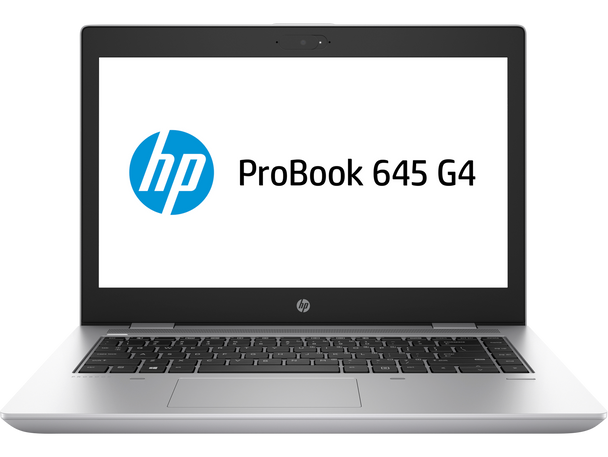 "HP ProBook 645 G4 Notebook - Ryzen 3 - 2.0GHz, 4GB RAM, 500GB HDD, 14"" Display, Windows 10 Pro"