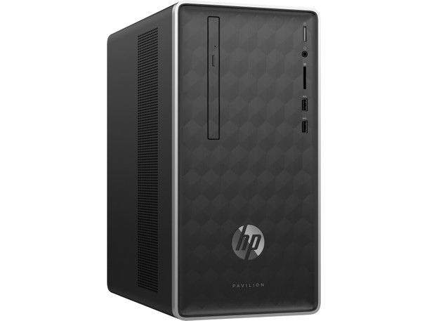 HP Pavilion Desktop 590-p0044 - AMD Ryzen 5 - 3.60GHz, 12GB RAM, 1TB HDD