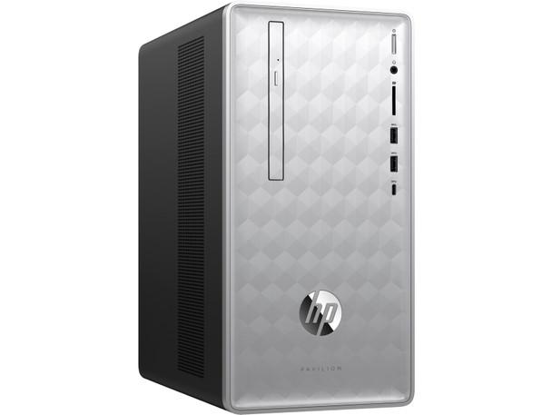 HP Pavilion Desktop 590-p0025z - AND Ryzen 5 - 3.60GHz, 8GB RAM, 1TB HDD, Radeon RX 550 2GB