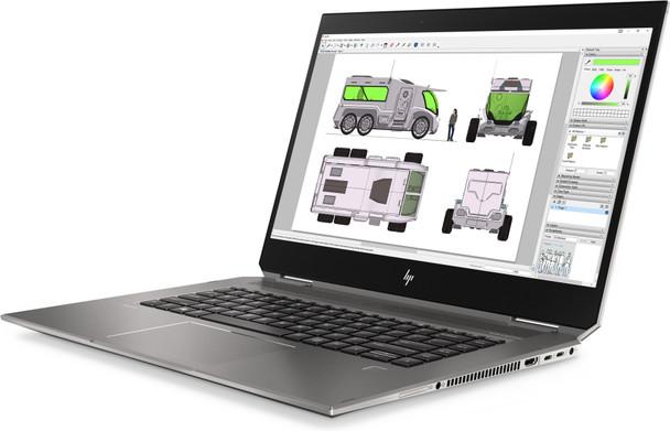 "HP ZBook X360 Studio G5 WorkStation   Intel i5 - 2.30GHz, 8GB RAM, 256GB SSD, Quadro P1000 4GB, 15.6"" Touchscreen, Windows 10 Pro"