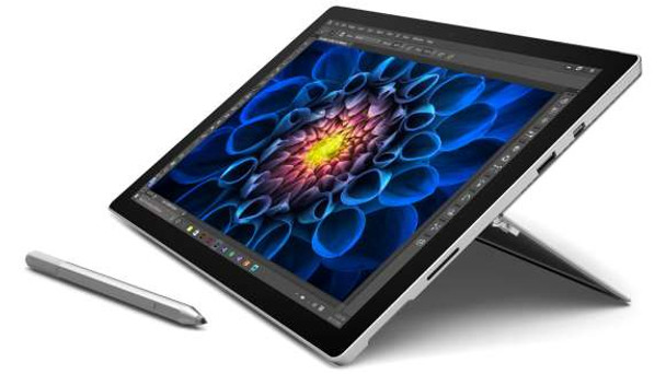 "Microsoft Surface Pro 4 Tablet – Intel i5 – 2.40GHz, 8GB RAM, 256GB SSD, 12.3"" Touchscreen + Pen, Windows 10 Pro"