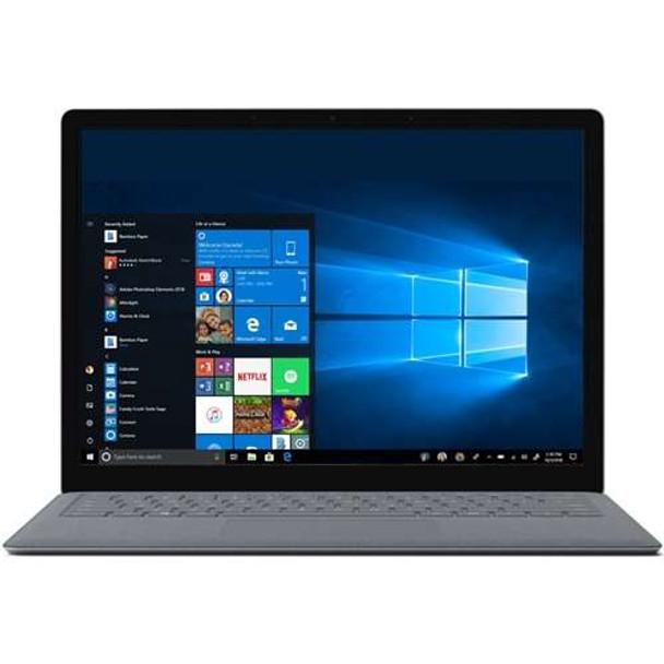 "Microsoft Surface Laptop - Intel Core i7 2.50GHz, 16GB RAM, 512GB SSD, 13.5"" Touchscreen, Windows 10 Pro, Platinum"