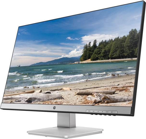 """HP 27q 27"""" 2560 x 1440 Quad HD LED Flat Matt Black, Silver Computer Monitor"""