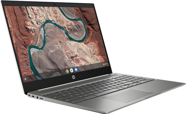 "HP Chromebook 15-de0021cl - Intel i3 - 2.20GHz, 4GB RAM, 128GB SSD, 15.6"" Touchscreen, White"