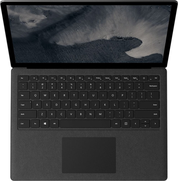 "Microsoft Surface Laptop 2   Intel i7, 8GB RAM, 256GB SSD, 13.5"" Touchscreen, Windows 10 Home, Black"