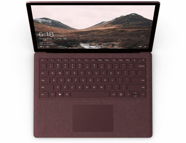 "Microsoft Surface Laptop 2 | Intel i7, 16GB RAM, 512GB SSD, 13.5"" Touchscreen, Windows 10 Home, Burgundy"