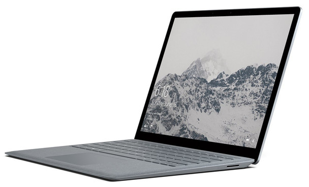 "Microsoft Surface Laptop 2 | Intel i5, 8GB RAM, 128GB SSD, 13.5"" Touchscreen, Windows 10 Home, Platinum"