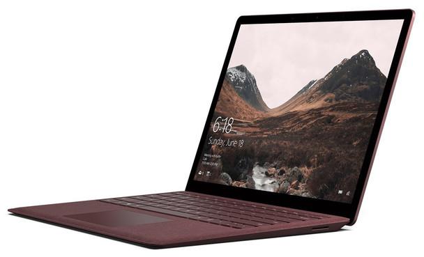"Microsoft Surface Laptop 2 - Intel Core i5, 8GB RAM, 256GB SSD, 13.5"" Touchscreen, Windows 10, Burgundy"