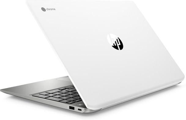 "HP Chromebook 15-DE0010NR – Intel Pentium – 2.30GHz, 4GB RAM, 64GB SSD, 15.6"" Touchscreen, White"